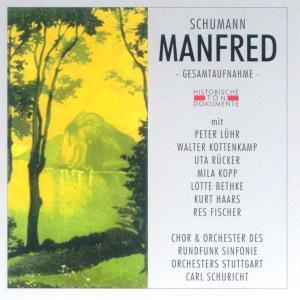 Manfred (Ga), Carl Schuricht, Chor & Orch.Des RSO Stuttgart
