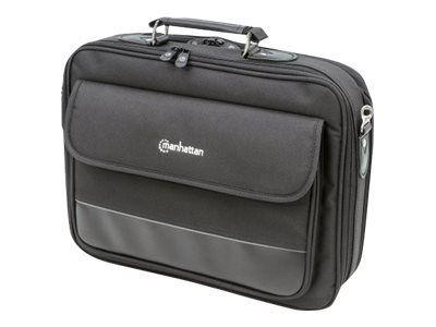 MANHATTAN Notebook Tasche Empire II Top Load, geeignet fuer die meisten Notebooks bis zu 39,62cm 15,6 Zoll