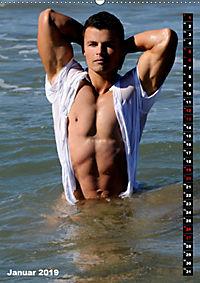 Mannsbilder Spiegelbilder (Wandkalender 2019 DIN A2 hoch) - Produktdetailbild 1