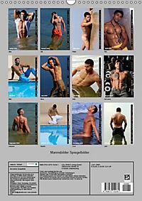 Mannsbilder Spiegelbilder (Wandkalender 2019 DIN A3 hoch) - Produktdetailbild 13