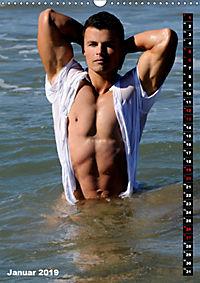 Mannsbilder Spiegelbilder (Wandkalender 2019 DIN A3 hoch) - Produktdetailbild 1