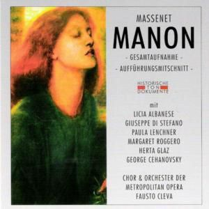Manon (Ga), Chor & Orch.Der Metropolitan Opera