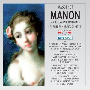 Manon (mp 3), Diverse Interpreten
