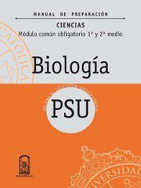 Manual Preparación Biología 1º y 2º Medio, Irene Mundingo Schorr