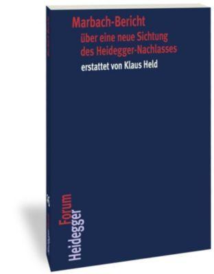Marbach-Bericht über eine neue Sichtung des Heidegger-Nachlasses