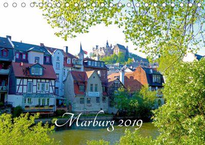 Marburg 2019 (Tischkalender 2019 DIN A5 quer), Monika Bunk