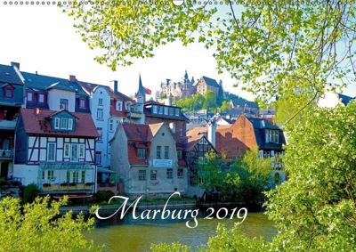 Marburg 2019 (Wandkalender 2019 DIN A2 quer), Monika Bunk