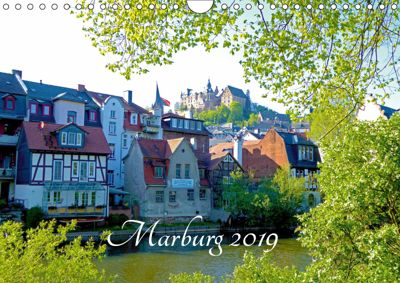 Marburg 2019 (Wandkalender 2019 DIN A4 quer), Monika Bunk