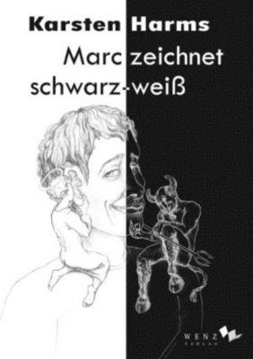 Marc zeichnet schwarz-weiß - Karsten Harms  