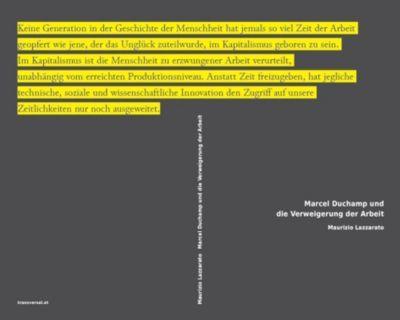 Marcel Duchamp und die Verweigerung der Arbeit - Alessandro Lazzari pdf epub