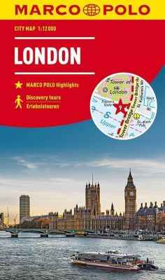MARCO POLO Citymap Cityplan London 1:12 000