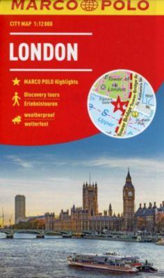 MARCO POLO Citymap Cityplan London 1:12 000