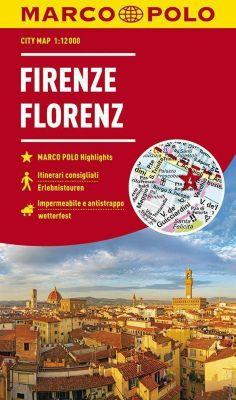 MARCO POLO Cityplan Florenz; Florence. Firenze