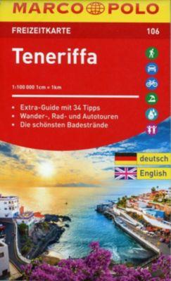 MARCO POLO Freizeitkarte Teneriffa