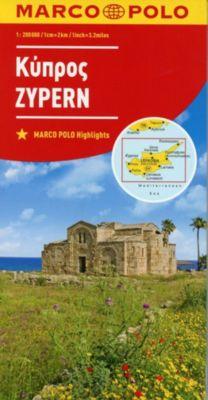 MARCO POLO Karte Zypern 1:200 000; Chypre / Cyprus