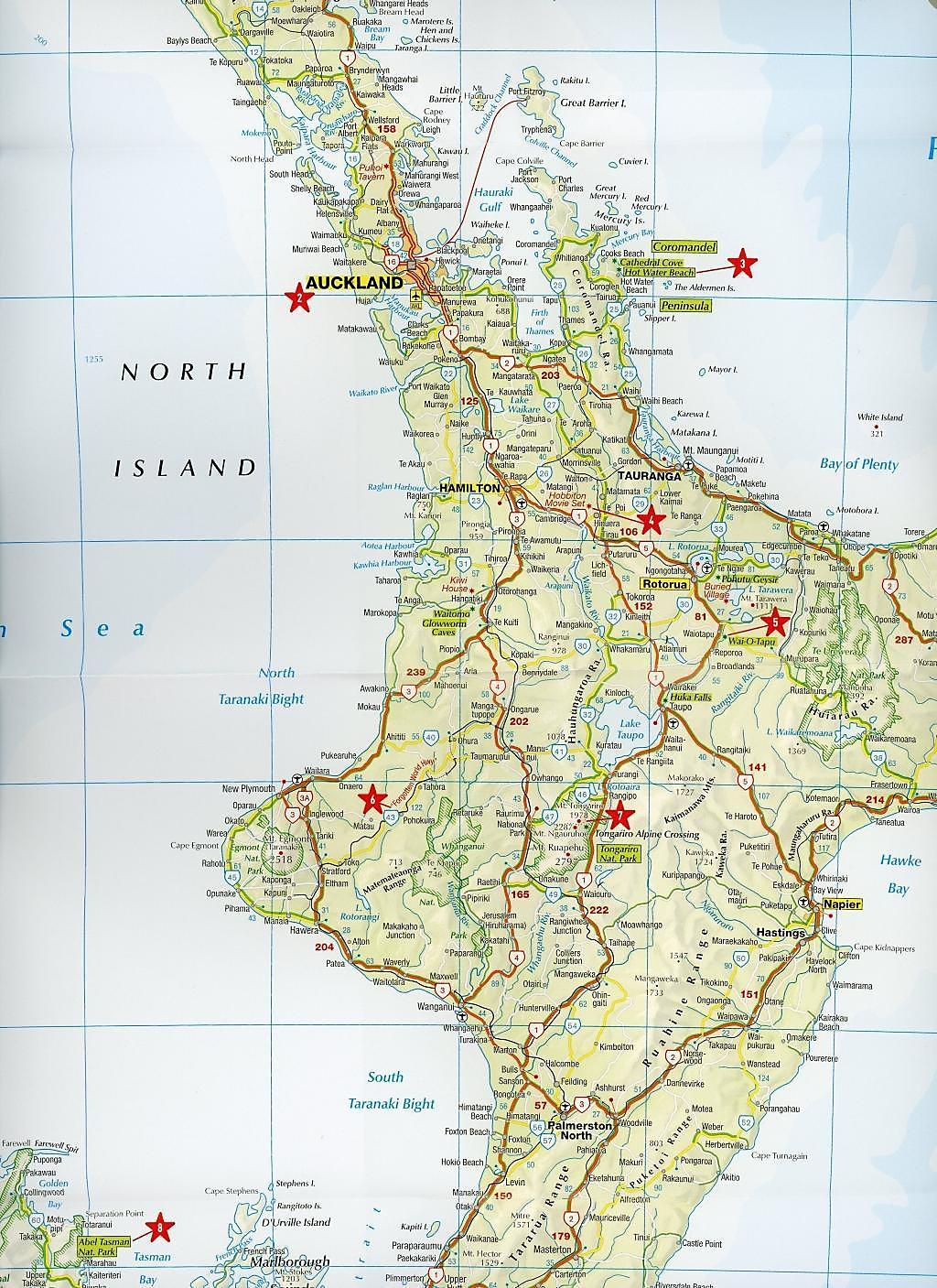 Neuseeland Nordinsel Karte.Marco Polo Kontinentalkarte Neuseeland 1 2 000 000 Buch Portofrei