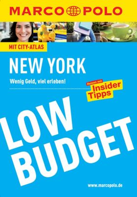 MARCO POLO LowBudget E-Book: MARCO POLO Reiseführer Low Budget New York, Alrun Steinrueck