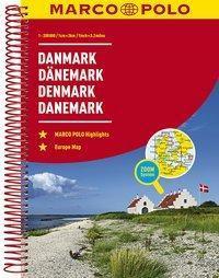 MARCO POLO Reiseatlas Dänemark 1:200 000 / Danmark / Denmark / Danemark -  pdf epub