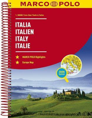 MARCO POLO Reiseatlas Italien 1:300 000; Italia / Italy / Italie -  pdf epub