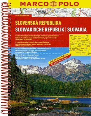 Marco Polo Reiseatlas Slowakische Repbulik; Slovenská Republika; Slovakia