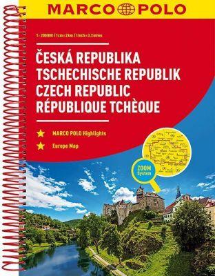 MARCO POLO Reiseatlas Tschechische Republik 1:200 000; Ceska Republika / Czech Republic / République Tchèque -  pdf epub