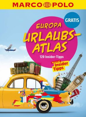MARCO POLO Reiseführer E-Book: MARCO POLO Europa Urlaubs-Atlas