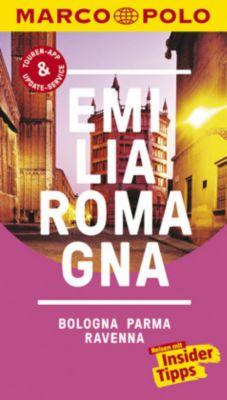 MARCO POLO Reiseführer Emilia-Romagna, Bologna, Parma, Ravenna - Bettina Dürr |