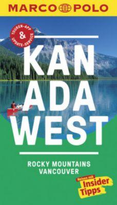 MARCO POLO Reiseführer Kanada West, Rocky Mountains, Vancouver - Karl Teuschl |
