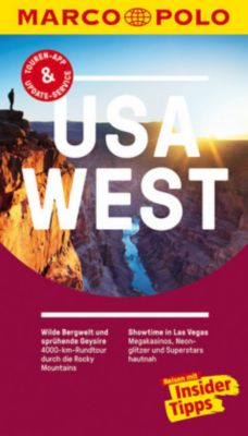 MARCO POLO Reiseführer USA West, Karl Teuschl