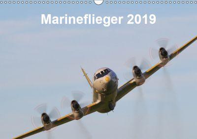 Marineflieger 2019 (Wandkalender 2019 DIN A3 quer), Eike Henning