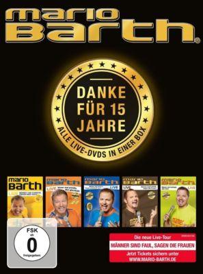 Mario Barth: Danke für 15 Jahre - Alle Live-DVDs in einer Box, Mario Barth