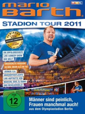 Mario Barth - Stadion Tour 2011, Mario Barth