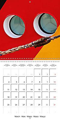 Maritime Impressions (Wall Calendar 2019 300 × 300 mm Square) - Produktdetailbild 3