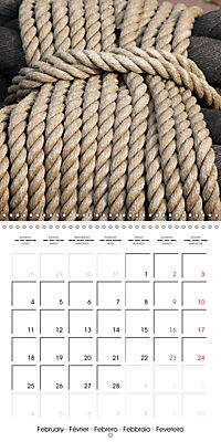 Maritime Impressions (Wall Calendar 2019 300 × 300 mm Square) - Produktdetailbild 2