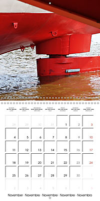 Maritime Impressions (Wall Calendar 2019 300 × 300 mm Square) - Produktdetailbild 11