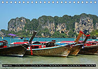 Maritimes - Bunte Boote (Tischkalender 2019 DIN A5 quer) - Produktdetailbild 3