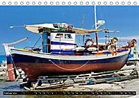 Maritimes - Bunte Boote (Tischkalender 2019 DIN A5 quer) - Produktdetailbild 1