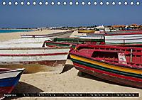 Maritimes - Bunte Boote (Tischkalender 2019 DIN A5 quer) - Produktdetailbild 2