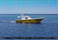 Maritimes - Bunte Boote (Tischkalender 2019 DIN A5 quer) - Produktdetailbild 5