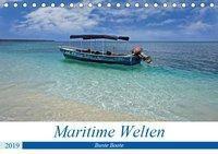Maritimes - Bunte Boote (Tischkalender 2019 DIN A5 quer), Christian Schnoor