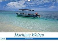 Maritimes - Bunte Boote (Wandkalender 2019 DIN A3 quer), Christian Schnoor