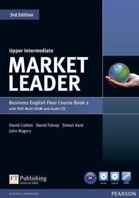Market Leader Upper Intermediate 3rd edition: Flexi Course Book 2 Pack, w. DVD Multi-ROM a. Audio-CD, David Cotton, David Falvey, Simon Kent, John Rogers