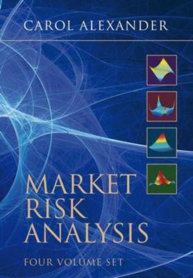 Market Risk Analysis, 4 Volume Boxset, Carol Alexander