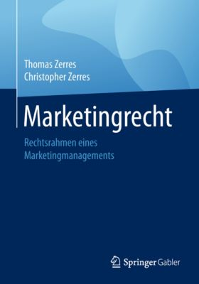 Marketingrecht, Christopher Zerres, Thomas Zerres