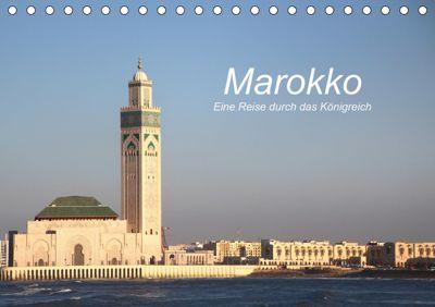 Marokko - Eine Reise durch das Königreich (Tischkalender 2019 DIN A5 quer), Cornelia Nerlich