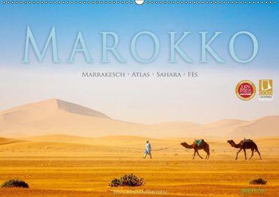 Marokko: Marrakesch, Atlas, Sahara, Fès (Wandkalender 2019 DIN A2 quer), Jens Benninghofen