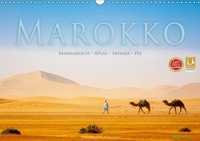 Marokko: Marrakesch, Atlas, Sahara, Fès (Wandkalender 2019 DIN A3 quer), Jens Benninghofen