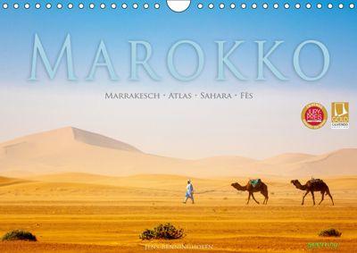 Marokko: Marrakesch, Atlas, Sahara, Fès (Wandkalender 2019 DIN A4 quer), Jens Benninghofen