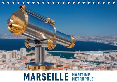 Marseille Maritime Metropole (Tischkalender 2019 DIN A5 quer), Martin Ristl