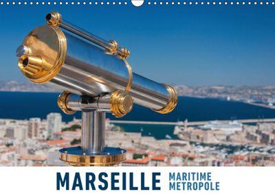 Marseille Maritime Metropole (Wandkalender 2019 DIN A3 quer), Martin Ristl